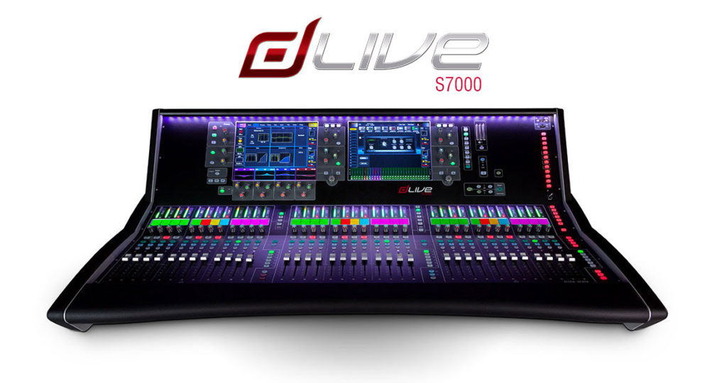 Console Allen & Heath - DLIVE - Surface S7000